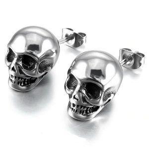 Jewelry - Skull Head Stud Earrings